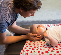Chiropractic care for babies - Maroochydore Sunshine Coast