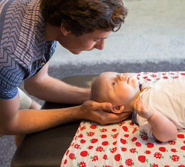 Chiropractic care for babies Sunshine Coast